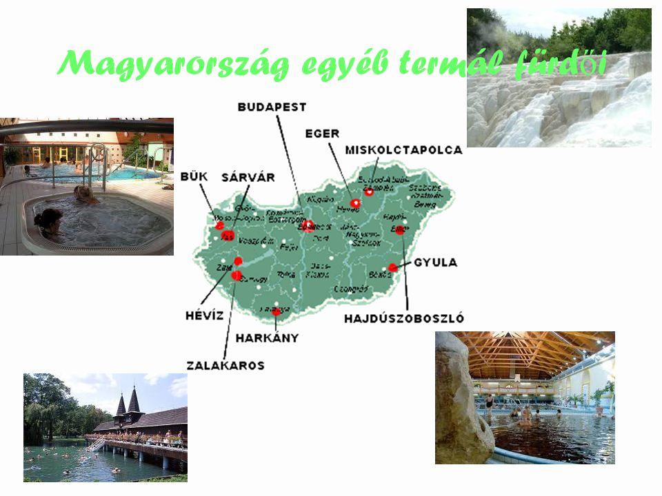 Magyarország egyéb termál fürdői