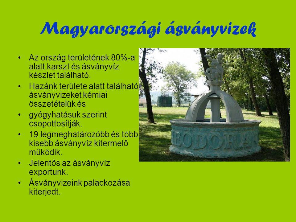 Magyarországi ásványvizek