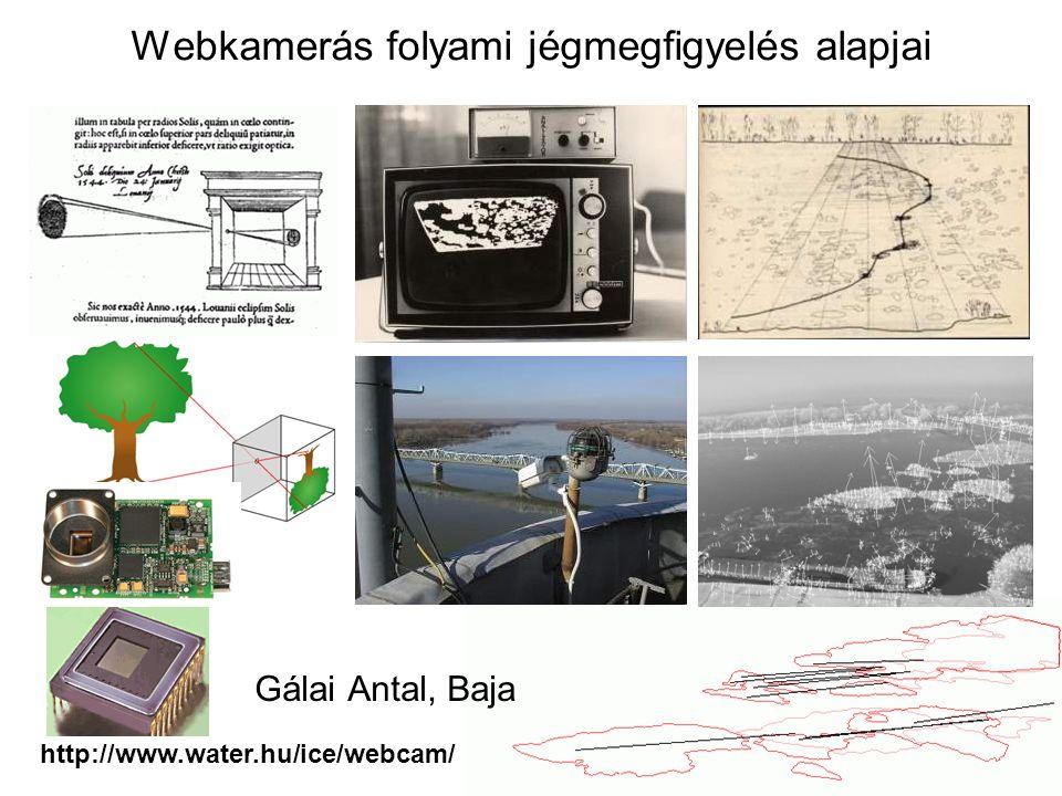 Webkamerás folyami jégmegfigyelés alapjai