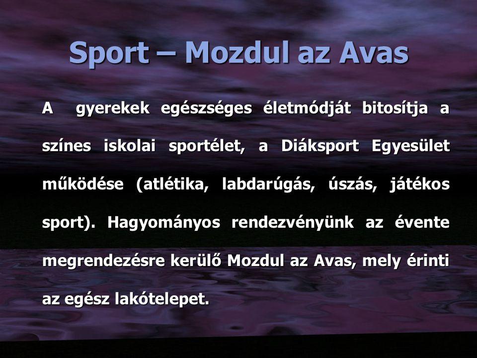 Sport – Mozdul az Avas