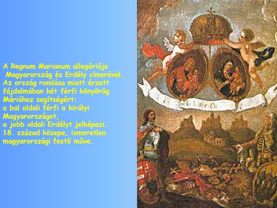 A Regnum Marianum allegóriája