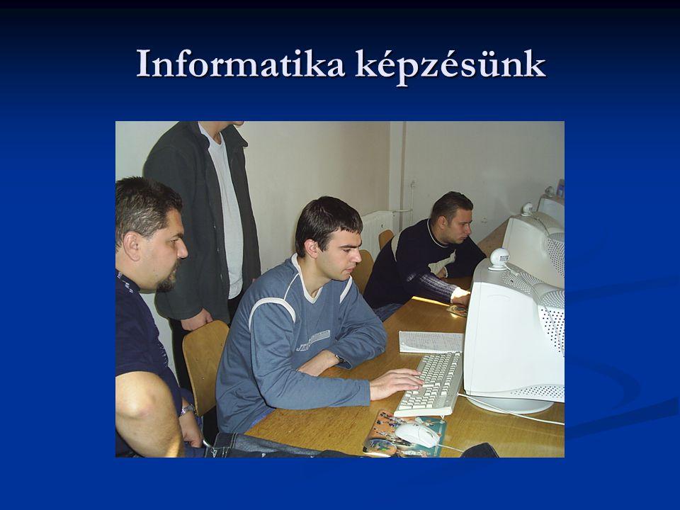 Informatika képzésünk