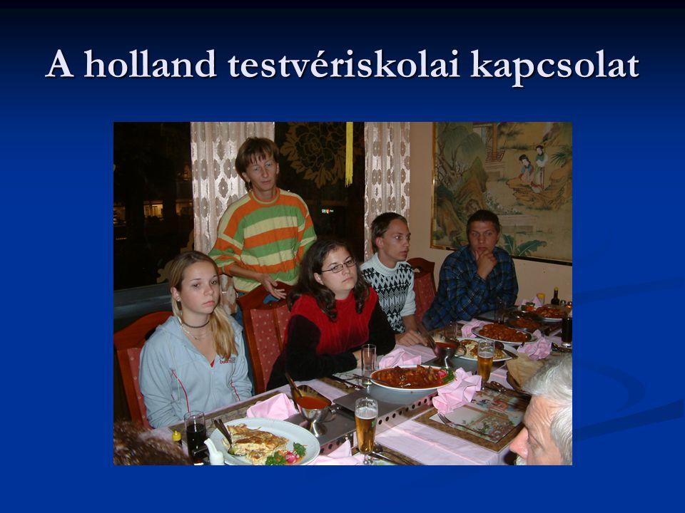 A holland testvériskolai kapcsolat
