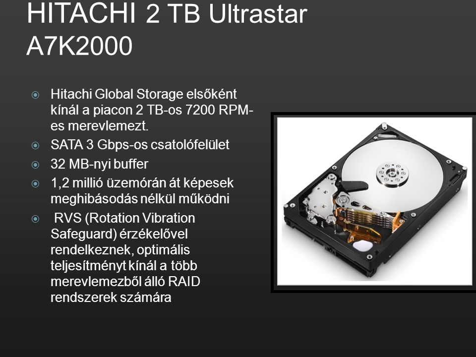 HITACHI 2 TB Ultrastar A7K2000