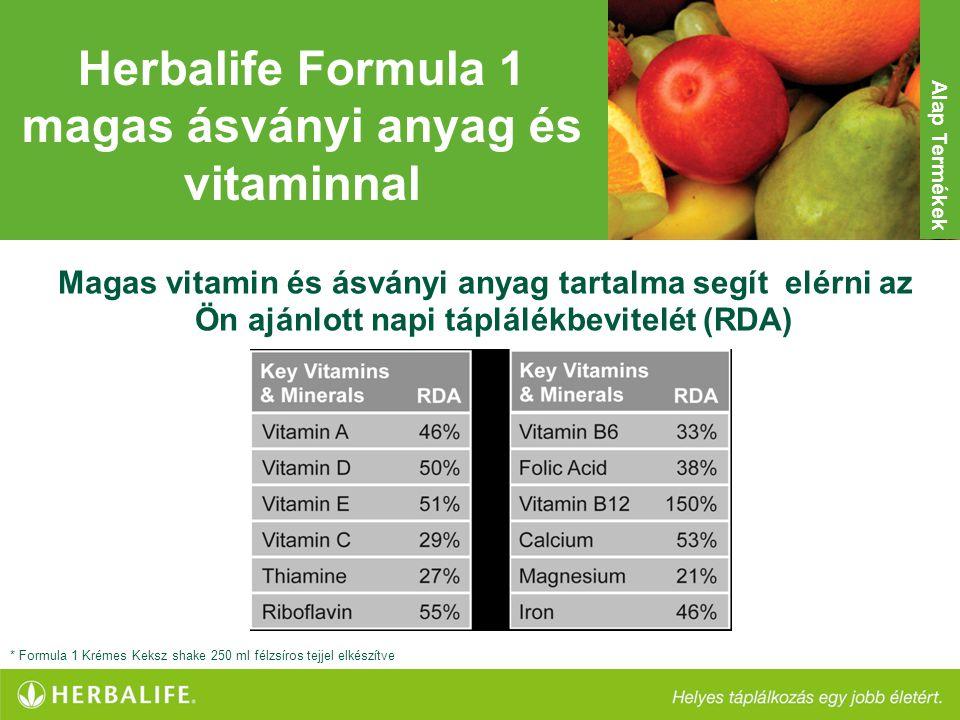 Herbalife Formula 1 magas ásványi anyag és vitaminnal