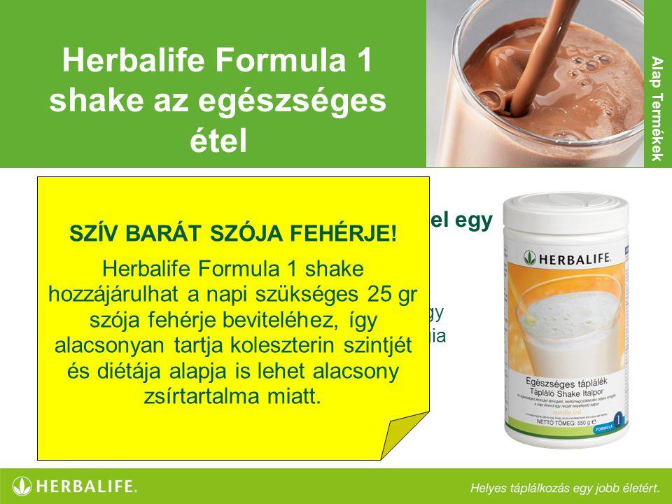 Herbalife Formula 1 shake az egészséges étel SZÍV BARÁT SZÓJA FEHÉRJE!