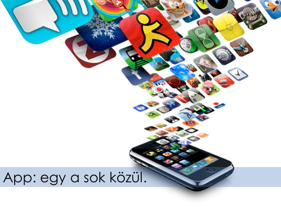 A rengeteg mobil alkalmazás csak az egyik lehetséges csatorna