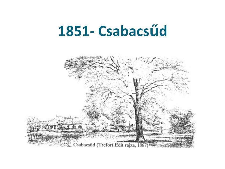 1851- Csabacsűd Csabacsüd