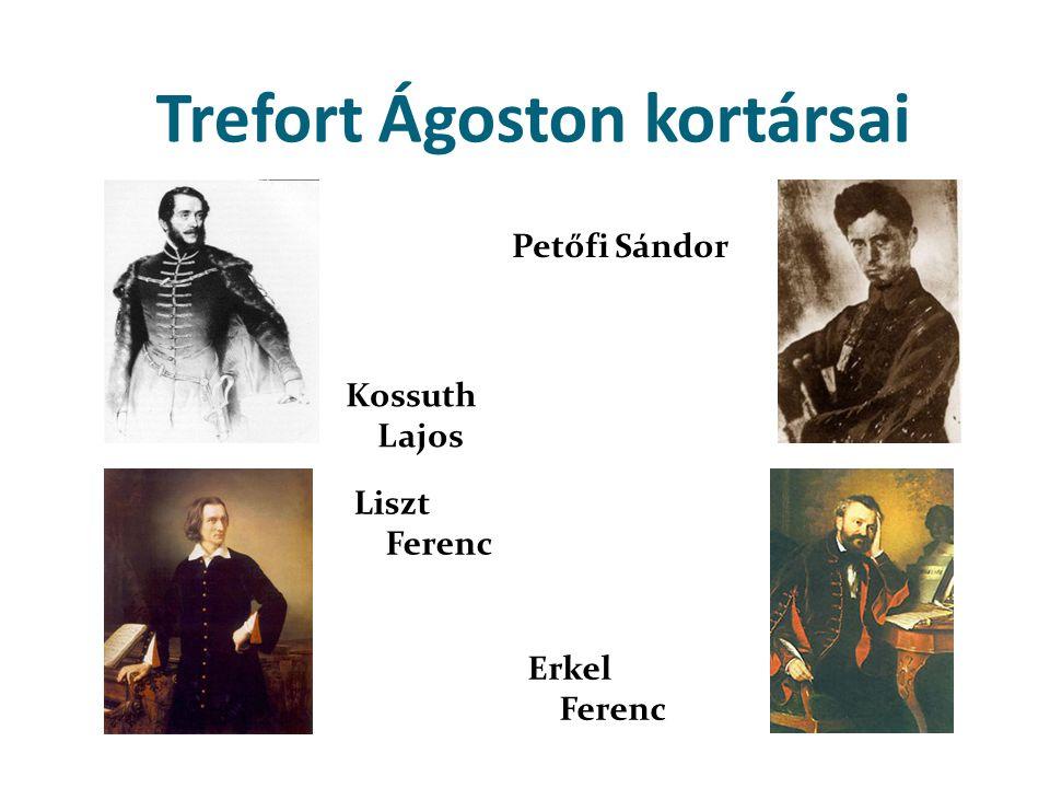 Trefort Ágoston kortársai