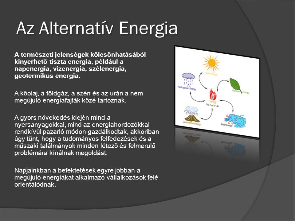 Az Alternatív Energia