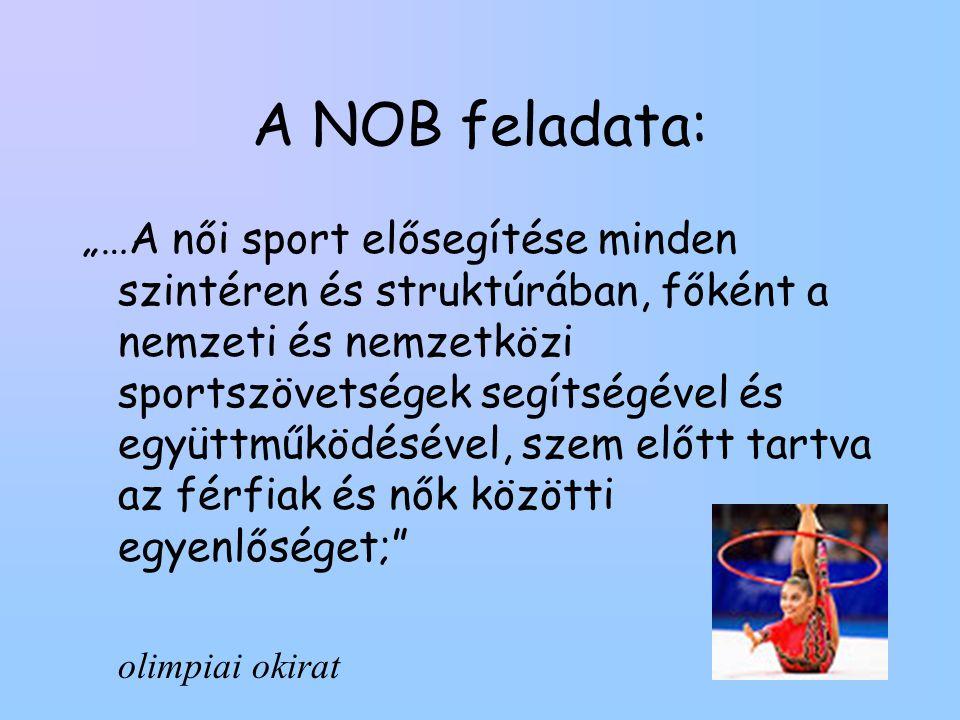 A NOB feladata: