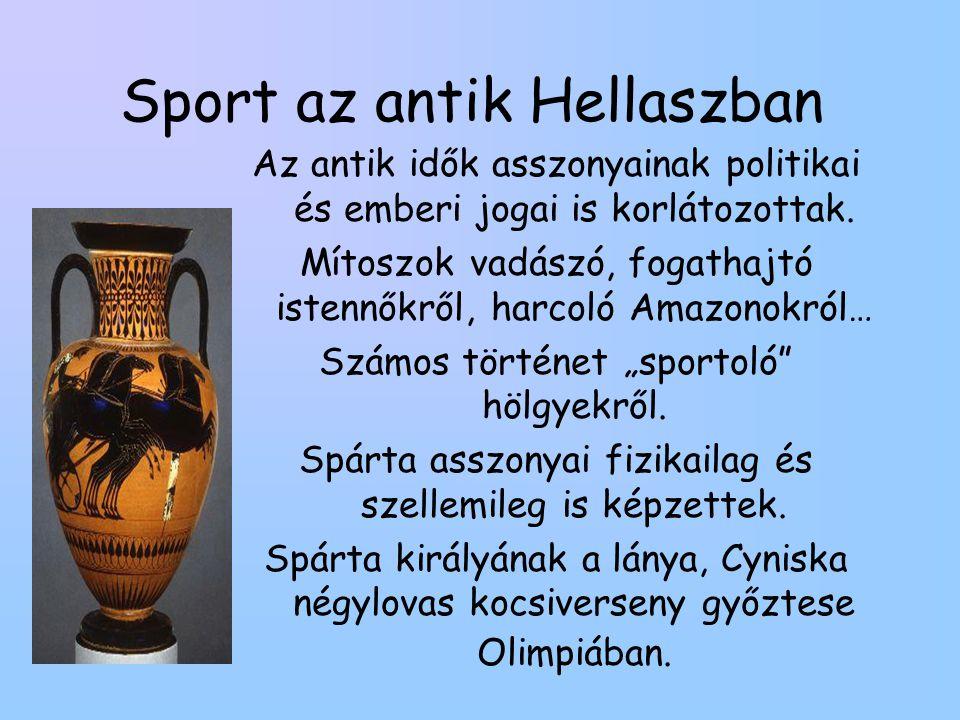 Sport az antik Hellaszban