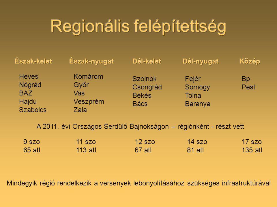 Regionális felépítettség