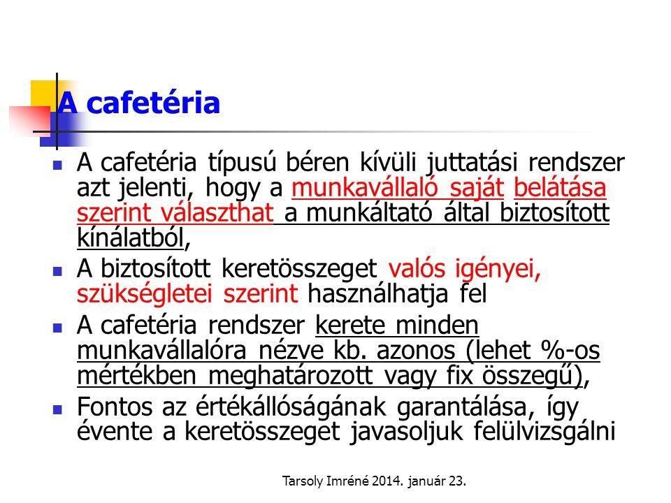 A cafetéria
