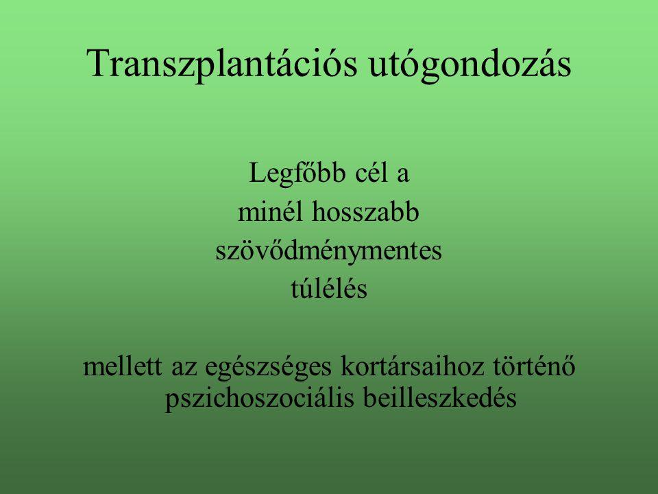 Transzplantációs utógondozás