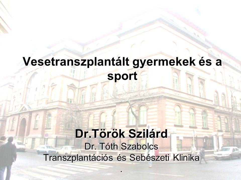 Vesetranszplantált gyermekek és a sport