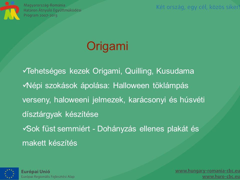 Origami Tehetséges kezek Origami, Quilling, Kusudama