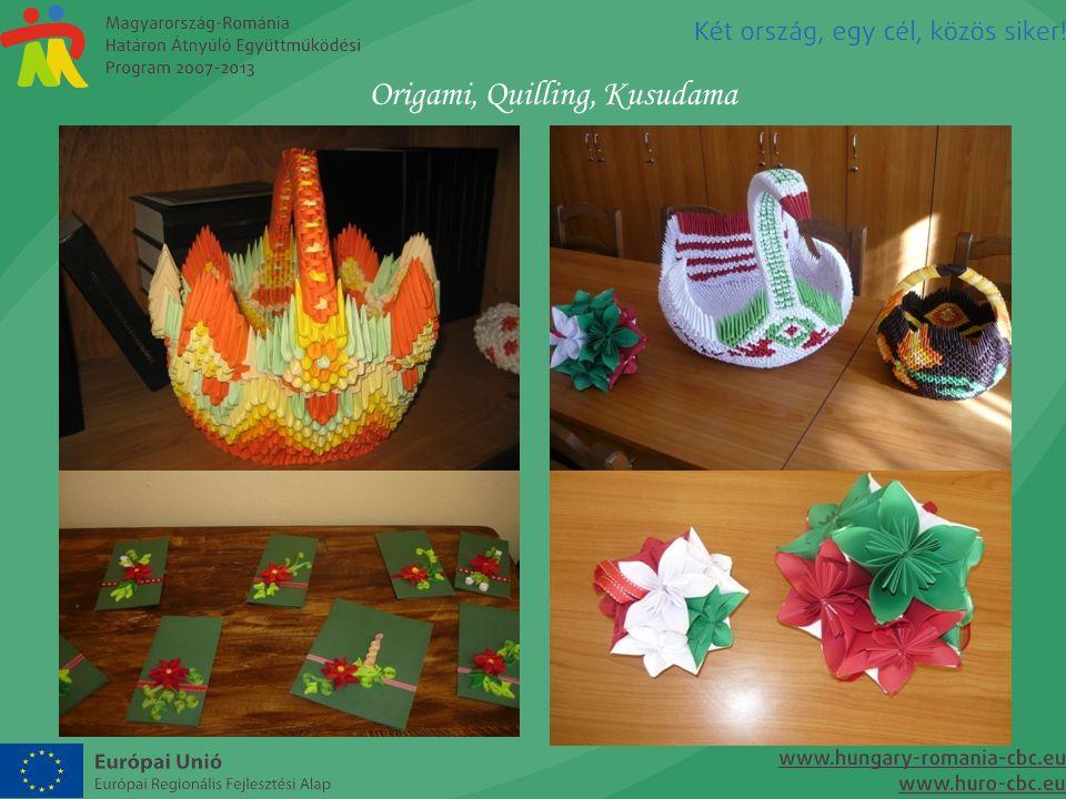 Origami, Quilling, Kusudama