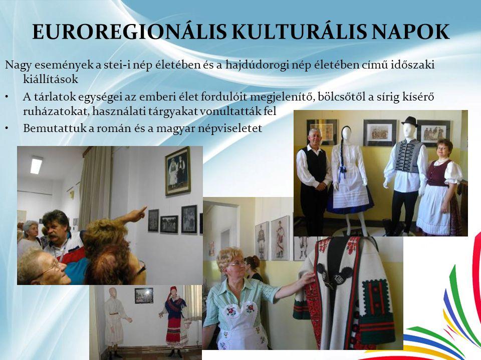 EUROREGIONÁLIS KULTURÁLIS NAPOK