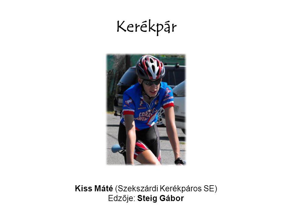 Kiss Máté (Szekszárdi Kerékpáros SE)