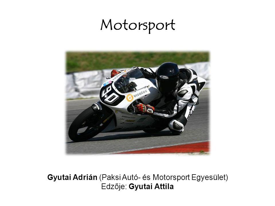 Gyutai Adrián (Paksi Autó- és Motorsport Egyesület)