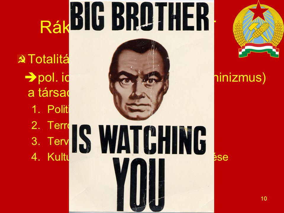 Rákosi-éra 1. - KERET Totalitárius diktatúra