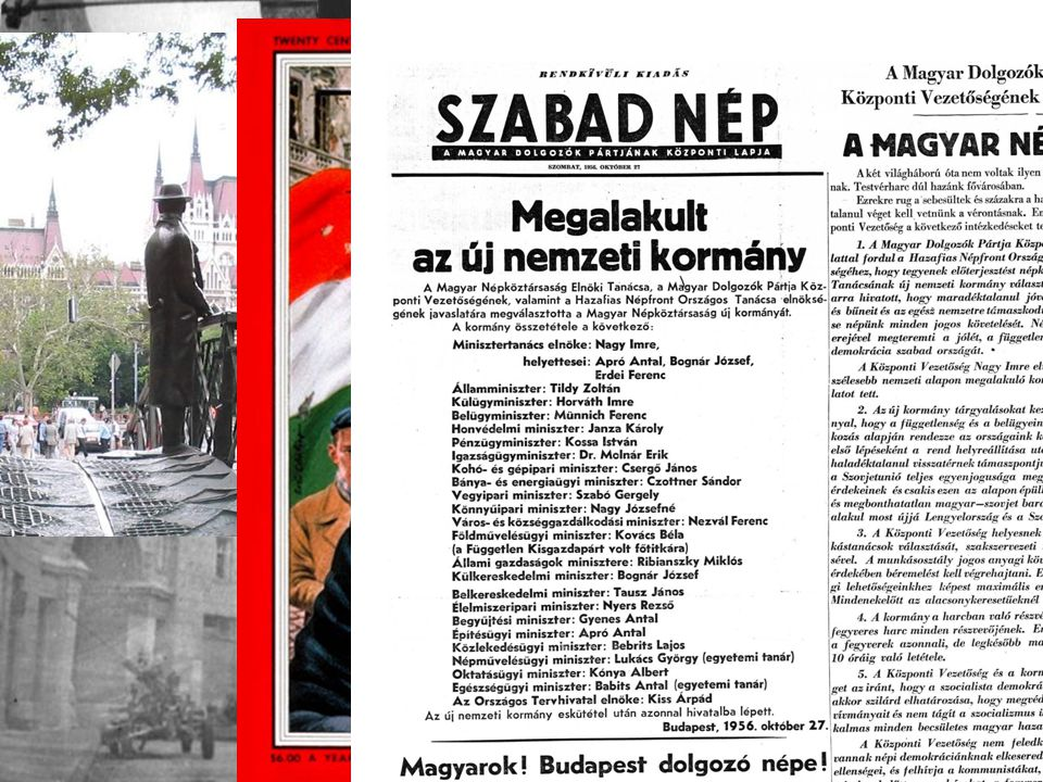 Nagy Imre 53-55 53.márc.05. Sztálin RIP belső harcok és kritika