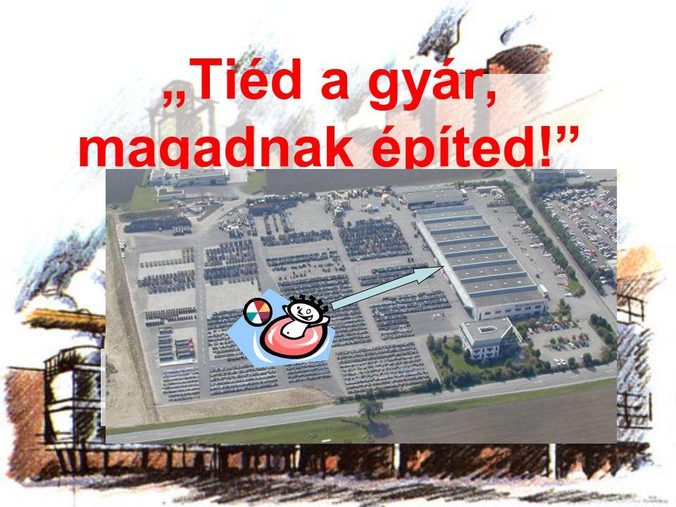 """""""Tiéd a gyár, magadnak építed!"""