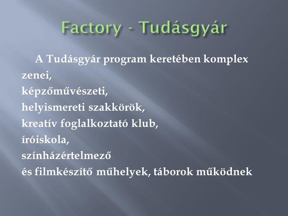Factory - Tudásgyár