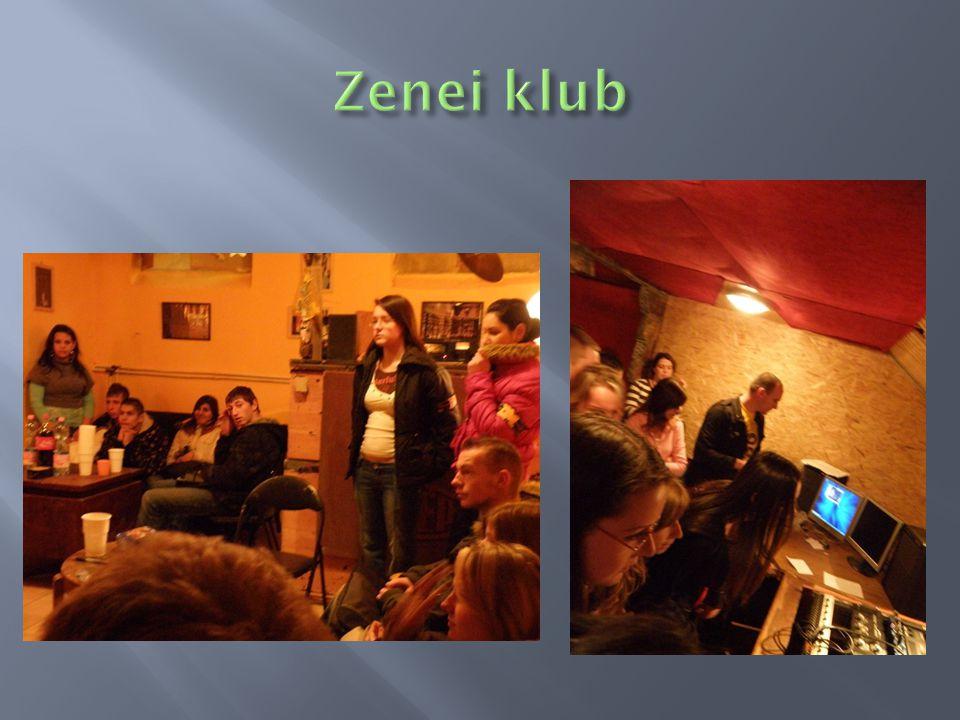 Zenei klub