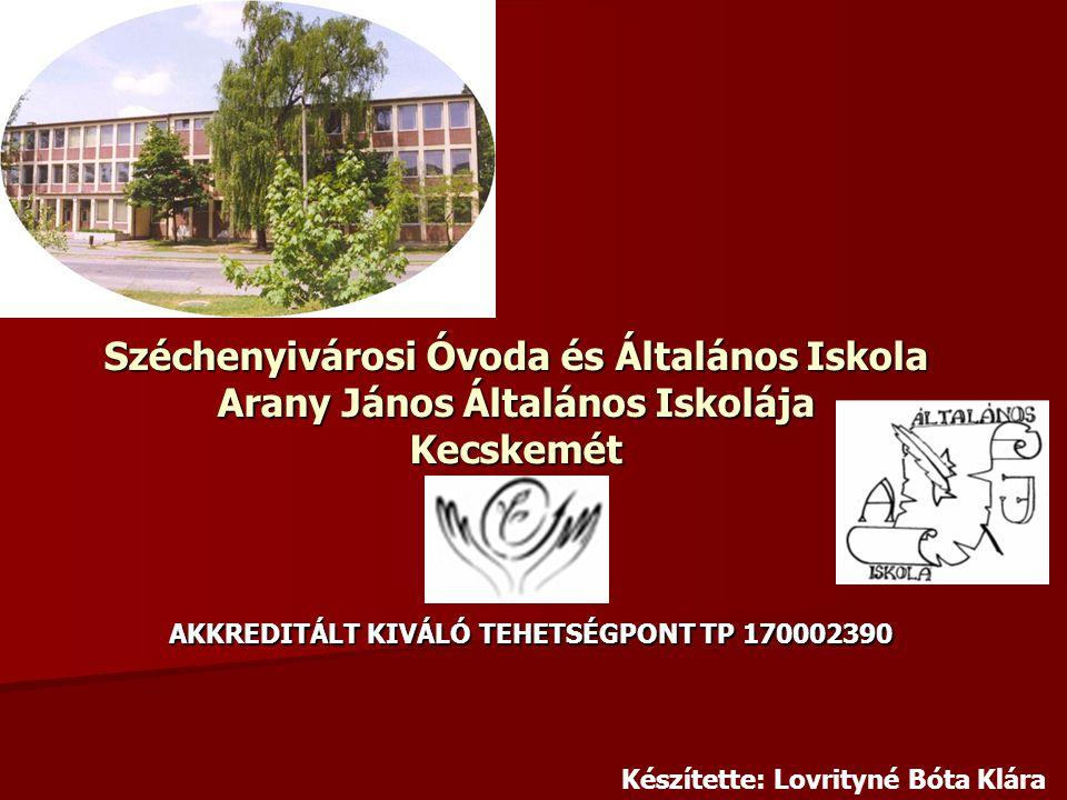 AKKREDITÁLT KIVÁLÓ TEHETSÉGPONT TP 170002390