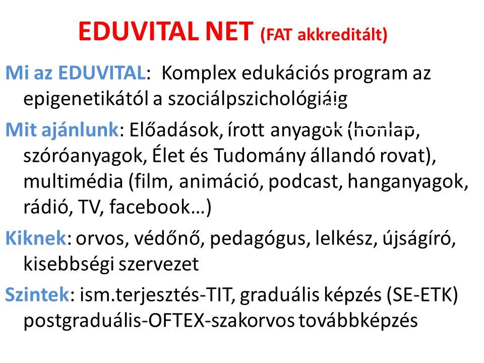 EDUVITAL NET (FAT akkreditált)