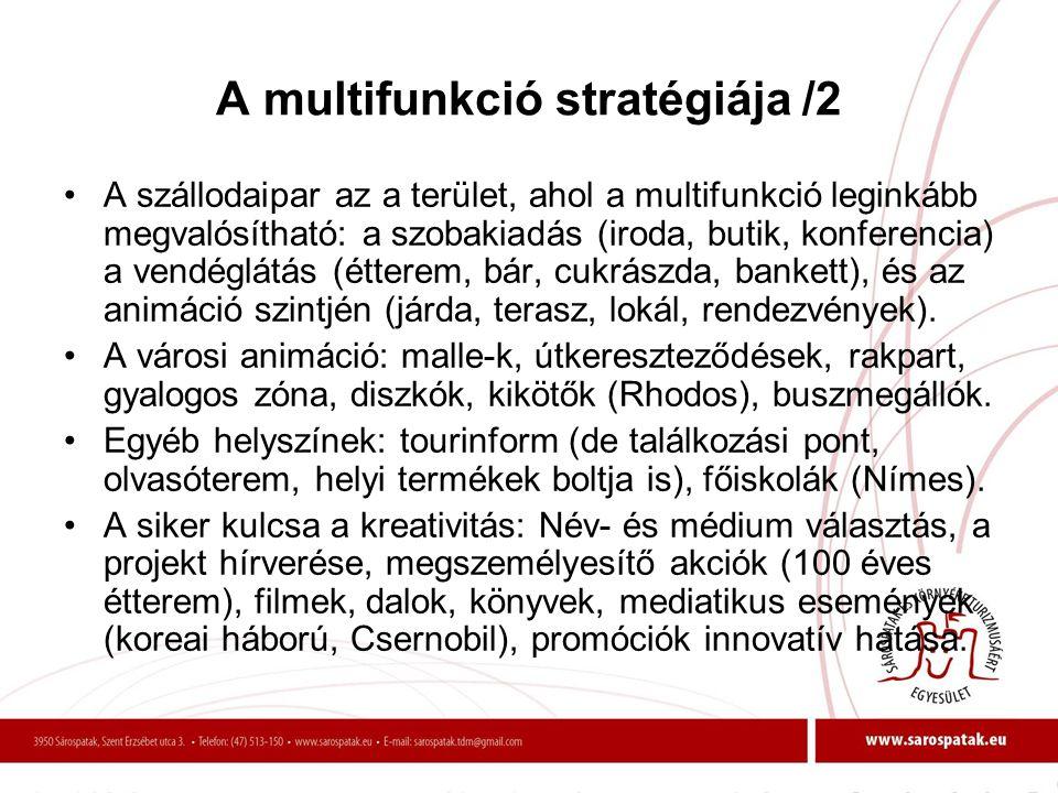 A multifunkció stratégiája /2