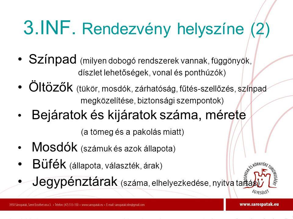 3.INF. Rendezvény helyszíne (2)