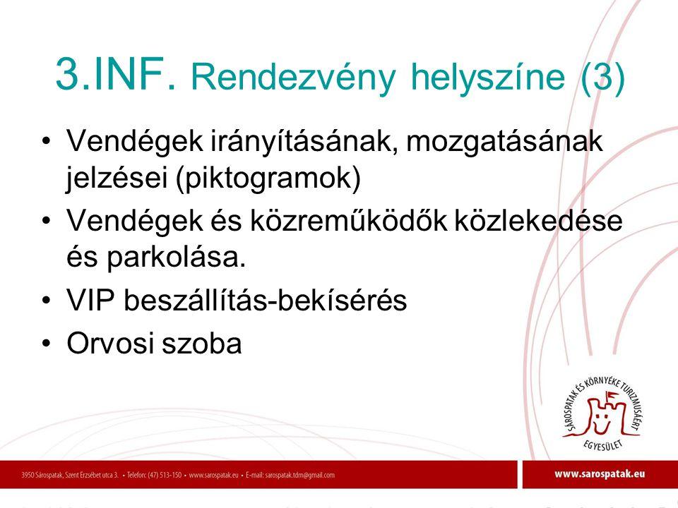 3.INF. Rendezvény helyszíne (3)