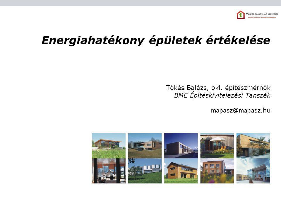 Energiahatékony épületek értékelése