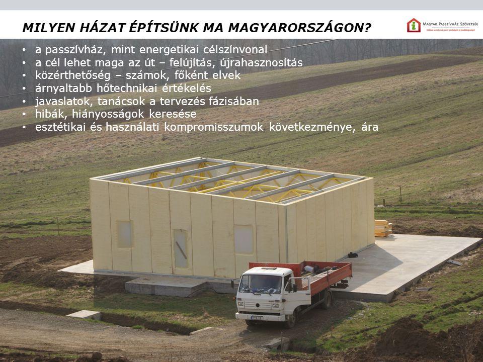 Milyen házat építsünk ma Magyarországon