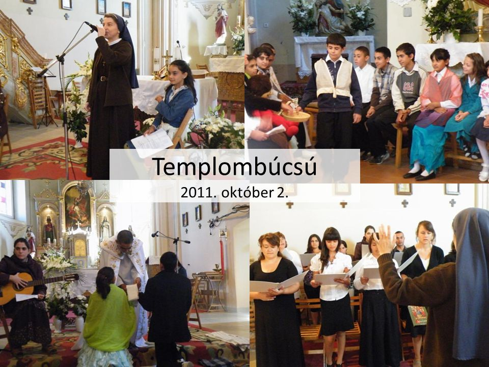 Templombúcsú 2011. október 2.
