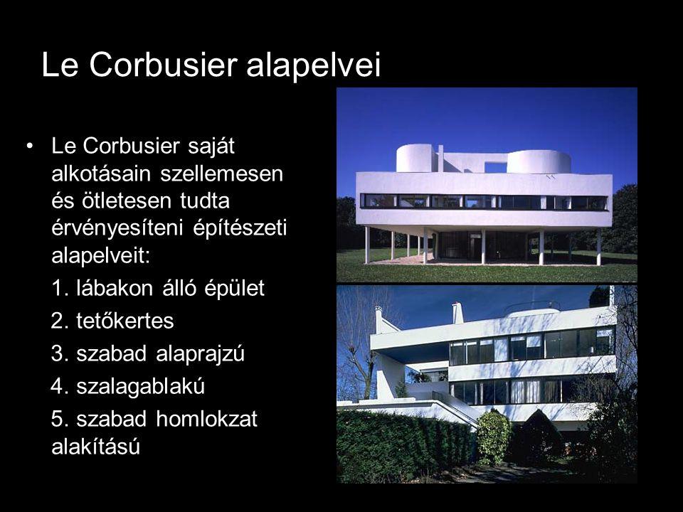 Le Corbusier alapelvei