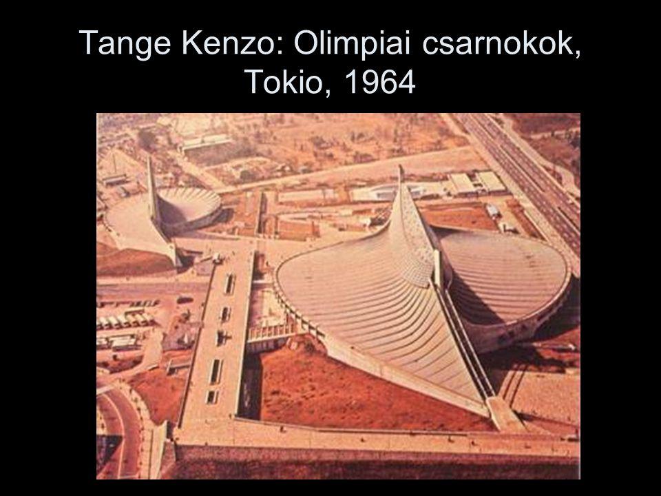 Tange Kenzo: Olimpiai csarnokok, Tokio, 1964