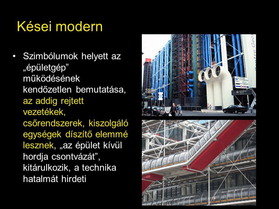 Kései modern