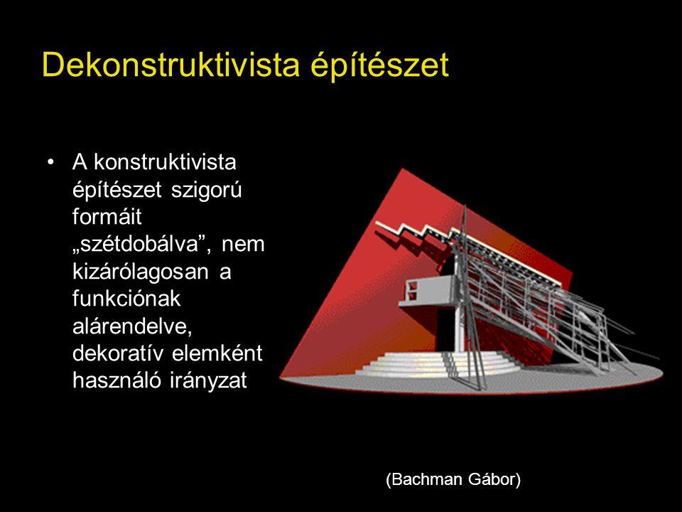 Dekonstruktivista építészet