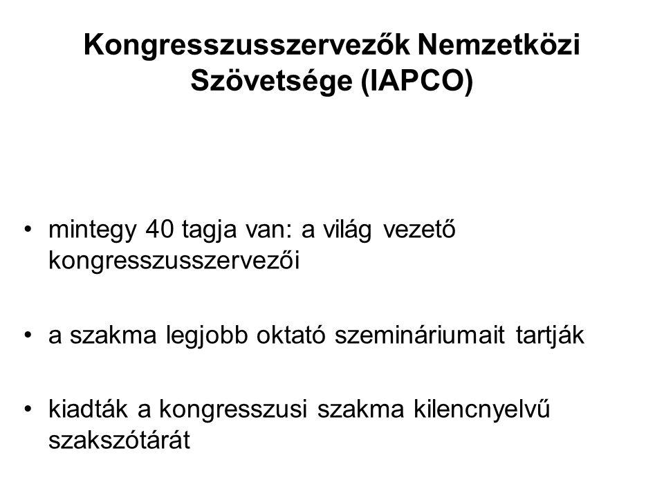 Kongresszusszervezők Nemzetközi Szövetsége (IAPCO)