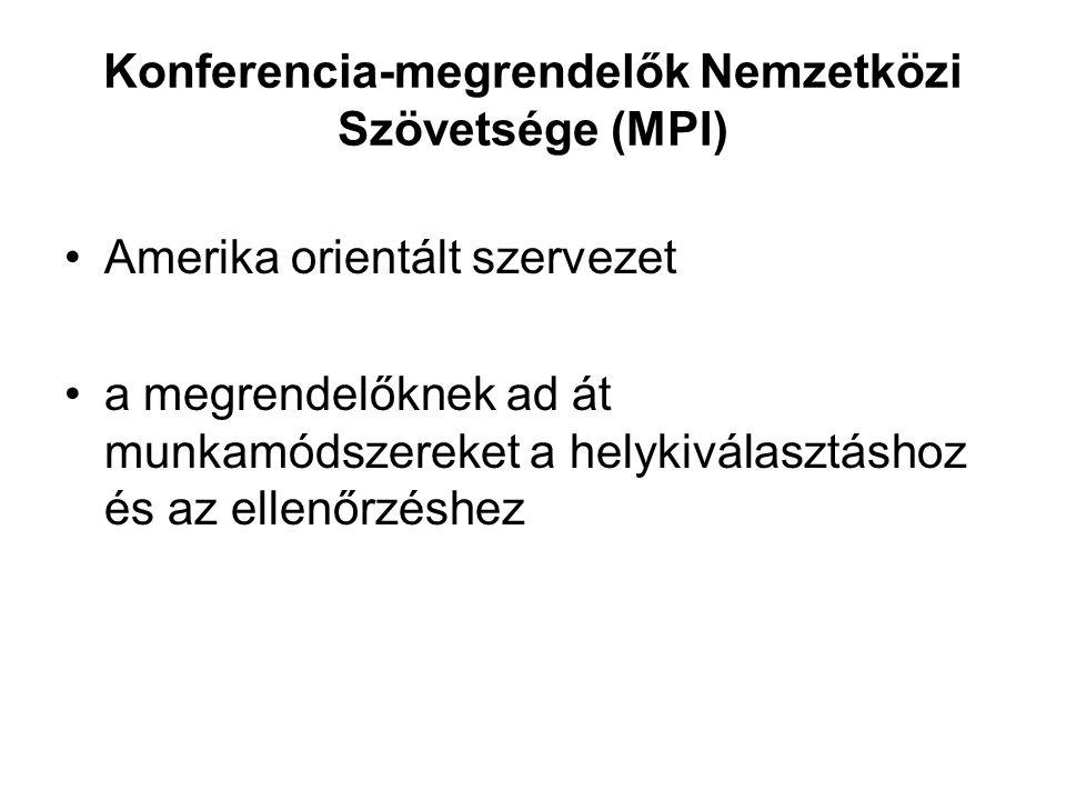 Konferencia-megrendelők Nemzetközi Szövetsége (MPI)