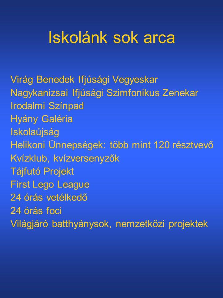 Iskolánk sok arca Virág Benedek Ifjúsági Vegyeskar