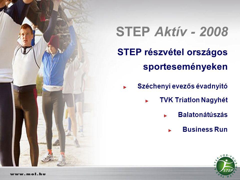 STEP Aktív - 2008 STEP részvétel országos sporteseményeken
