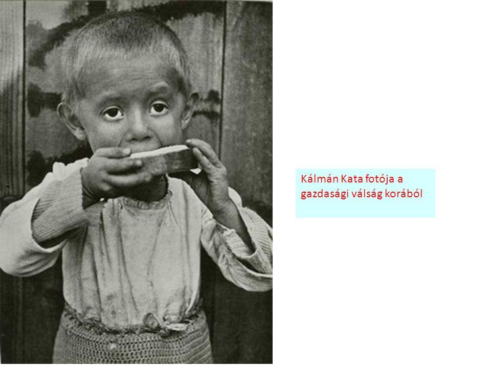 Kálmán Kata fotója a gazdasági válság korából