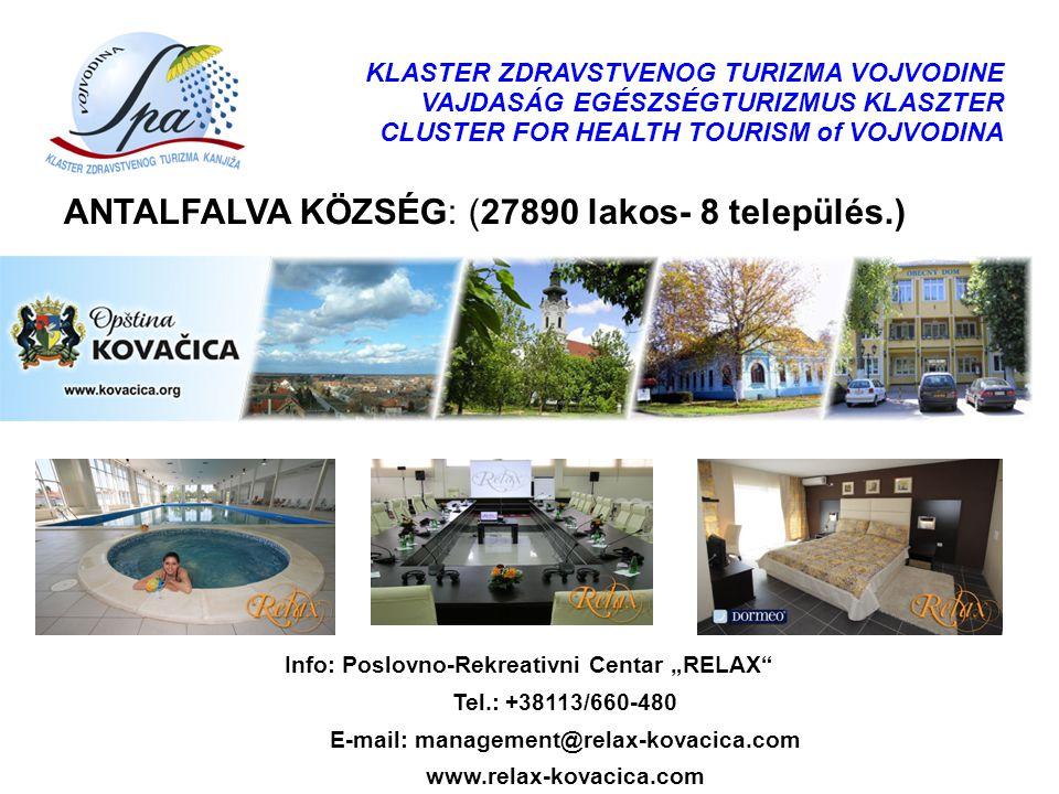ANTALFALVA KÖZSÉG: (27890 lakos- 8 település.)