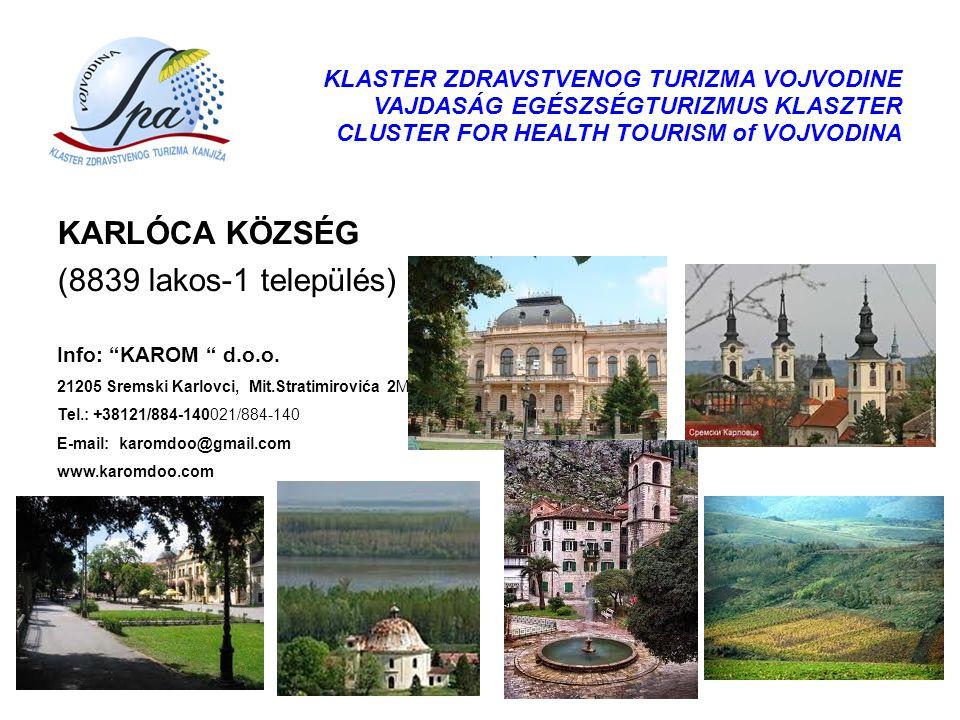 KARLÓCA KÖZSÉG (8839 lakos-1 település)