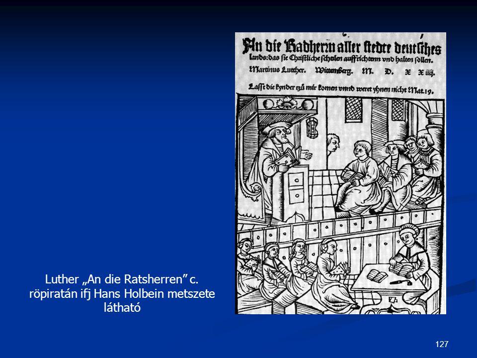 "Luther ""An die Ratsherren c"